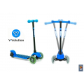 YGLIDELBE Самокат Y-BIKE 3-х кол GLIDER Deluxe mini (blue) open box