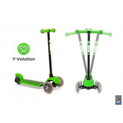 YGLIDELGN Самокат Y-BIKE 3-х кол GLIDER Deluxe mini (green) open box