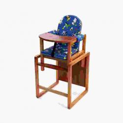 ВИЛТ Стул-стол для кормления МАЛЫШ Синий