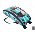 Рюкзак-машинка (голубой)