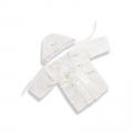 АРГО, Крестильный набор (рубашка, чепчик), шитьё (Унисекс, белый)