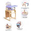 Мишутка Стул-стол для кормления ГЛОБЭКС Фиолетовый