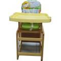 Мишутка Стул-стол для кормления ГЛОБЭКС Зеленый
