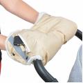 BAMBOLA Муфты для коляски с карманом на молнии Бежевая