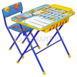 НИКА Наборы мебели ПЕРВОКЛАШКА ОСЕНЬ стол+мягкий стул