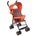 BAMBOLA Коляска трость LOVE (8 колес, бампер, сумка) оранжевый, уп.4шт.