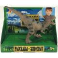 Игрушка пластизоль Играем Вместе Динозавр Тираннозавр 13*5*9.5см, индив. дисплей бокс в кор.2*72шт