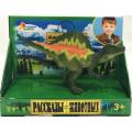 Игрушка пластизоль Играем Вместе Динозавр Спинозавр 13*4.5*6.5см, индив. дисплей бокс в кор.2*72шт