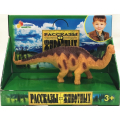 Игрушка пластизоль Играем Вместе Динозавр Бронтозавр 13.5*3.5*5см, индив. дисплей бокс в кор.2*72шт