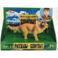 Игрушка пластизоль Играем Вместе Динозавр Трицератопс 11.5*4*5.5см, индив. дисплей бокс в кор.2*72