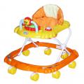 BAMBOLA Ходунки МИШКА (8 колес,игрушки,муз) 6 шт в кор.(67*63*52) ORANGE+YELLOW оранжевый