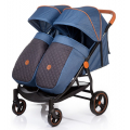 Коляска прогулочная BELLEZZA DUO (AS210) (JEANS GREY)