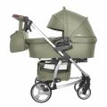 Детская коляска 2 в 1 CARRELLO Vista CRL-6501 OLIVE GREEN