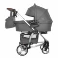 Детская коляска 2 в 1 CARRELLO Vista CRL-6501 STEEL GRAY