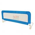 Бортик защитный в кроватку синий, арт, 2118