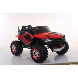 Машина на аккум. (12v7ah*1, 35w*2), колеса EVA,2 скорости,макс.скорость 5km/h. двери откр. свет,звук, цв.красный, в/к 125*75*53 см.
