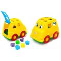 Автомобиль-логика Микроавтобус, 23*16*16 см.