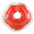 BABY SWIMMER Круг для купания ( 3-12кг) Красный Полуцвет+внутри погремушка
