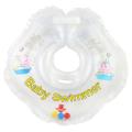 BABY SWIMMER Круг для купания ( 3-12кг) Прозрачный Полуцвет+внутри погремушка