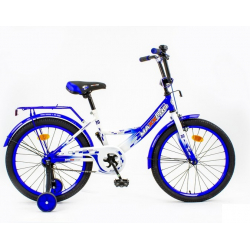 18-6 Велосипед MAXXPRO-M (сине-белый)