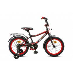 16-1 Велосипед ONIX-M (черно-красный)