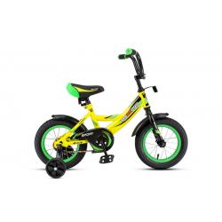 12-2 Велосипед SPORT (желто-зеленый)