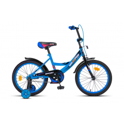18-5 Велосипед SPORT (матовый сине-черный)