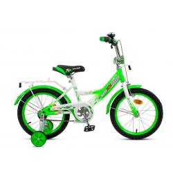 Велосипед 16 MAXXPRO  (зелено-белый)