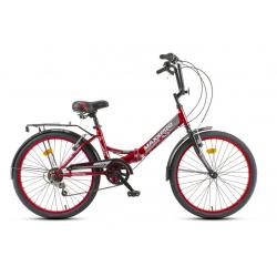 Велосипед COMPACT 24S Y24S-4 (красно-черный)