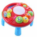 TOT KIDS Развивающий столик 2в1 ГУСЕНИЦА (свет,звук) 23*23*18 см (в кор.30 шт)