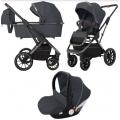 Детская коляска 3 в 1 CARRELLO Aurora  CRL-6502/1 Iron Grey