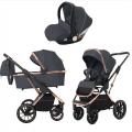 Детская коляска 3 в 1 CARRELLO Aurora  CRL-6502 Iron Grey