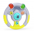 PITUSO Развивающая игрушка Музыкальный руль (серый) (свет,звук) 17*17*5 см (в кор.60 шт)