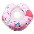 FLIPPER Круг на шею для купания малышей музыкальный Лебединое озеро Розовый