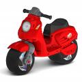ОР502 Каталка-мотоцикл беговел СКУТЕР цвет красный